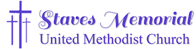 Staves Memorial United Methodist Church Logo