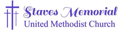 Staves Memorial United Methodist Church Logo