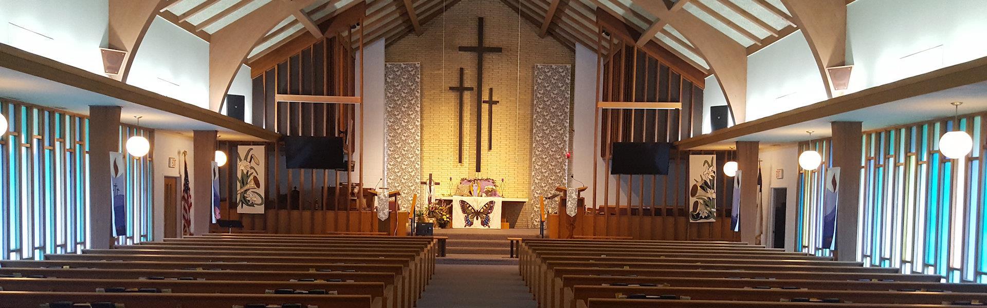 Staves Church Sanctuary 1920 x 600